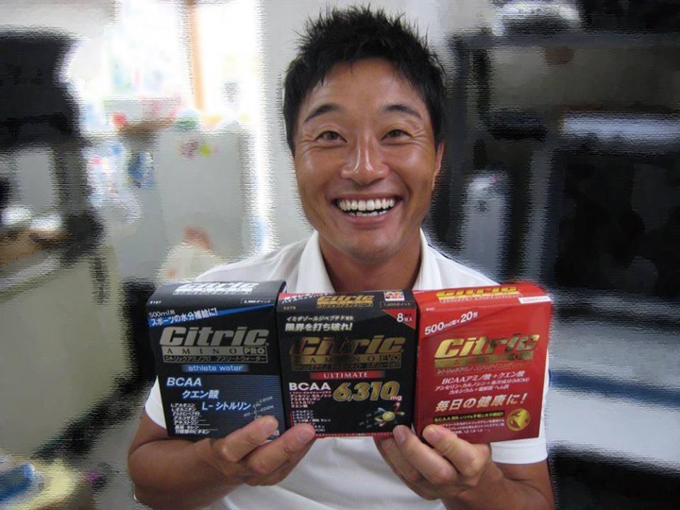 令和初の優勝者はシトリックアミノの愛飲者、宮本勝昌選手でした